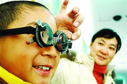 儿童近视的中医按摩疗法