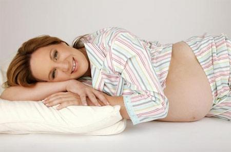 孕晚期舒心睡眠的小对策(图)