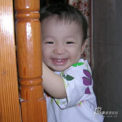 新浪宝宝笑脸1:宝宝的笑脸(图)