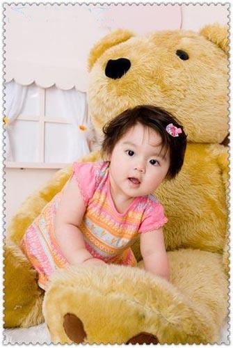 动感宝贝·我型我秀第216期:可爱的洋娃娃与大熊(图)