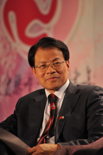 特邀嘉宾:著名经济学家、全国工商联副秘书长王忠明(图)