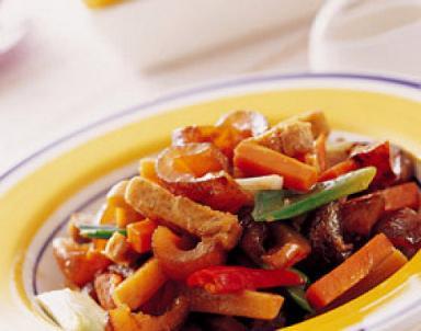 幼儿营养食谱:葱烧海参
