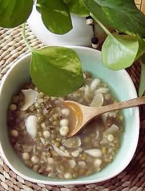 孕期营养汤:陈皮绿豆汤