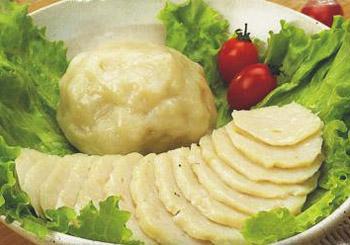 宝宝强身壮体吃鱼蛋饼(图)