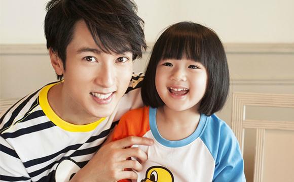 吴尊和女儿neinei的幸福时光