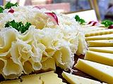 奶酪如花绽放