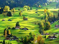 住在如画般的瑞士小村