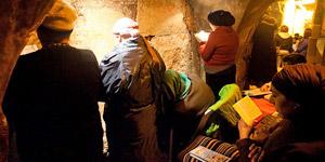耶路撒冷哭墙地下隧道
