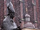 波兰小城雪景