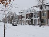 加拿大卡尔加里的雪有一些早