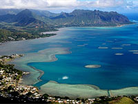 乘直升机俯瞰夏威夷美景