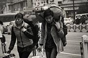 实拍杭州城战火车站春运