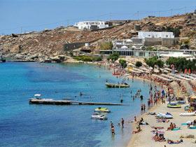 希腊最著名的同志天体海滩(图)