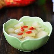 清热解毒的甘蔗马蹄甜汤