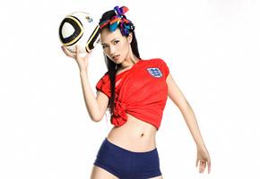 袁媛:我也做次足球宝贝