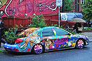 最吸引眼球的艺术涂鸦车