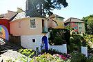 地中海风格的英国小城