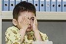 孩子们体检时的表情