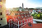 捷克漂亮小镇美到窒息