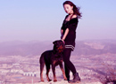 大黑狗和黑衣MM