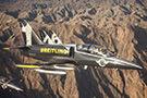 空对空拍摄喷气机队