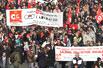 法国罢工乐坏小贩(组图)