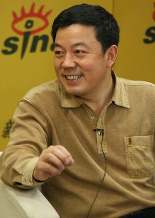 图:作家、人民文学出版社《中华文学选刊》主编王干(blog)