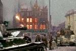 苏联的坦克攻入德国首都