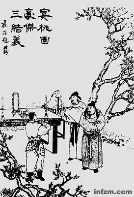 三国文化元素手绘