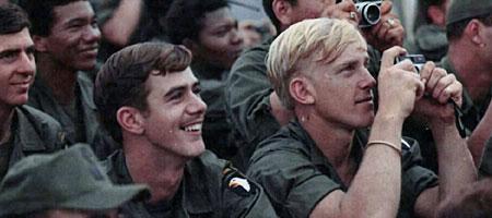 全景大图:越战圣诞节时候的美军