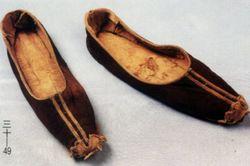 元代布帛鞋
