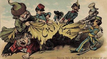 关税和殖民地争夺战