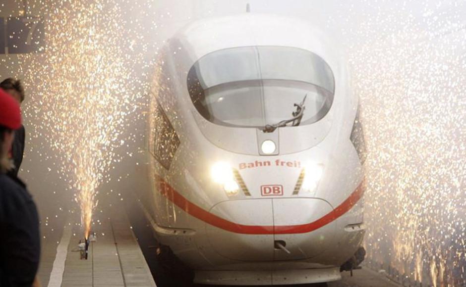 德国ICE城际列车特快