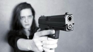 反对禁枪的宣传画