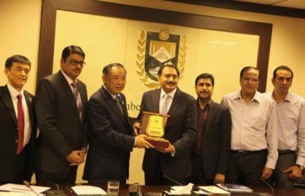 北京国际和平文化基金会与伊斯兰堡工商委员会签订合作协议