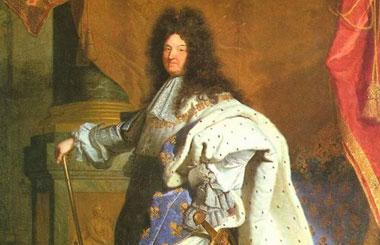 路易十四,法国中央集权制的完成者。