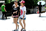 上海美眉短裙秀美腿