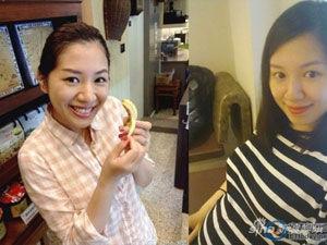 侯湘婷自爆怀孕三个月