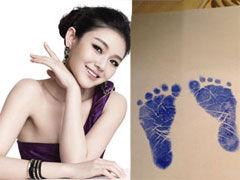 大S生女儿微博报喜 晒婴儿脚印称平安