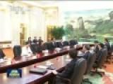 现场-习近平会见国民党主席朱立伦 提5点主张