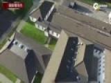 实拍英国4少年如忍者 学校屋顶飞檐走壁无难度