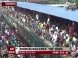 开挂模式!孟加拉国民众宰牲节返乡挤爆火车