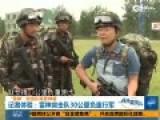 雷神突击队手持步枪负重行军30公里 海外扬威