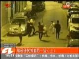 监拍四川黑社会街头火拼全程 似港匪片