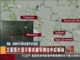 俄媒曝MH17坠毁前最后时刻 遭歼击机击落