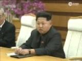 刘云山访问朝鲜会见金正恩 亲切拥抱握手