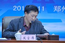 杨志学代高洪波谈中原诗歌现状视频