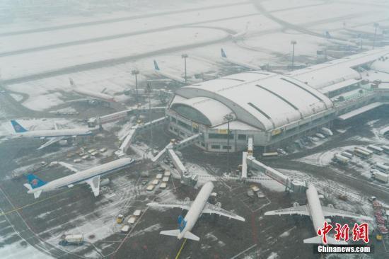 首都机场 资料图。图片来源:视觉中国