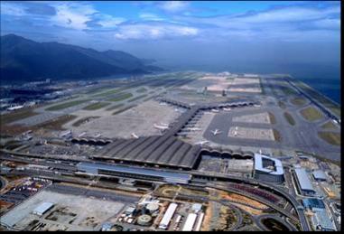 图为香港新机场