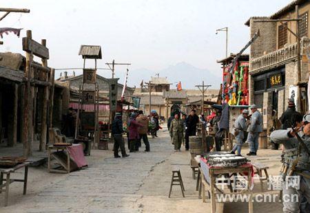 春节前的西部影城。